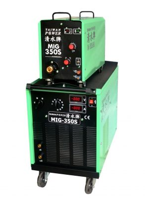 TAIWAN POWER MIG-350S Inverter MIG Semi-automatic Welder